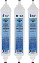 Tier1 Replacement for GE GXRTQR Inline Water Filter 3 Pack