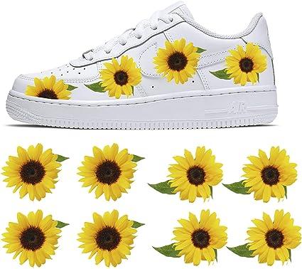 Lemonadeus Sunflower Decal patch per Nike Air Force 1/Vans/Kit ...