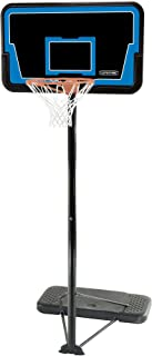 Lifetime 1268 Streamline Impact Portable Basketball System, 44 Inch Backboard