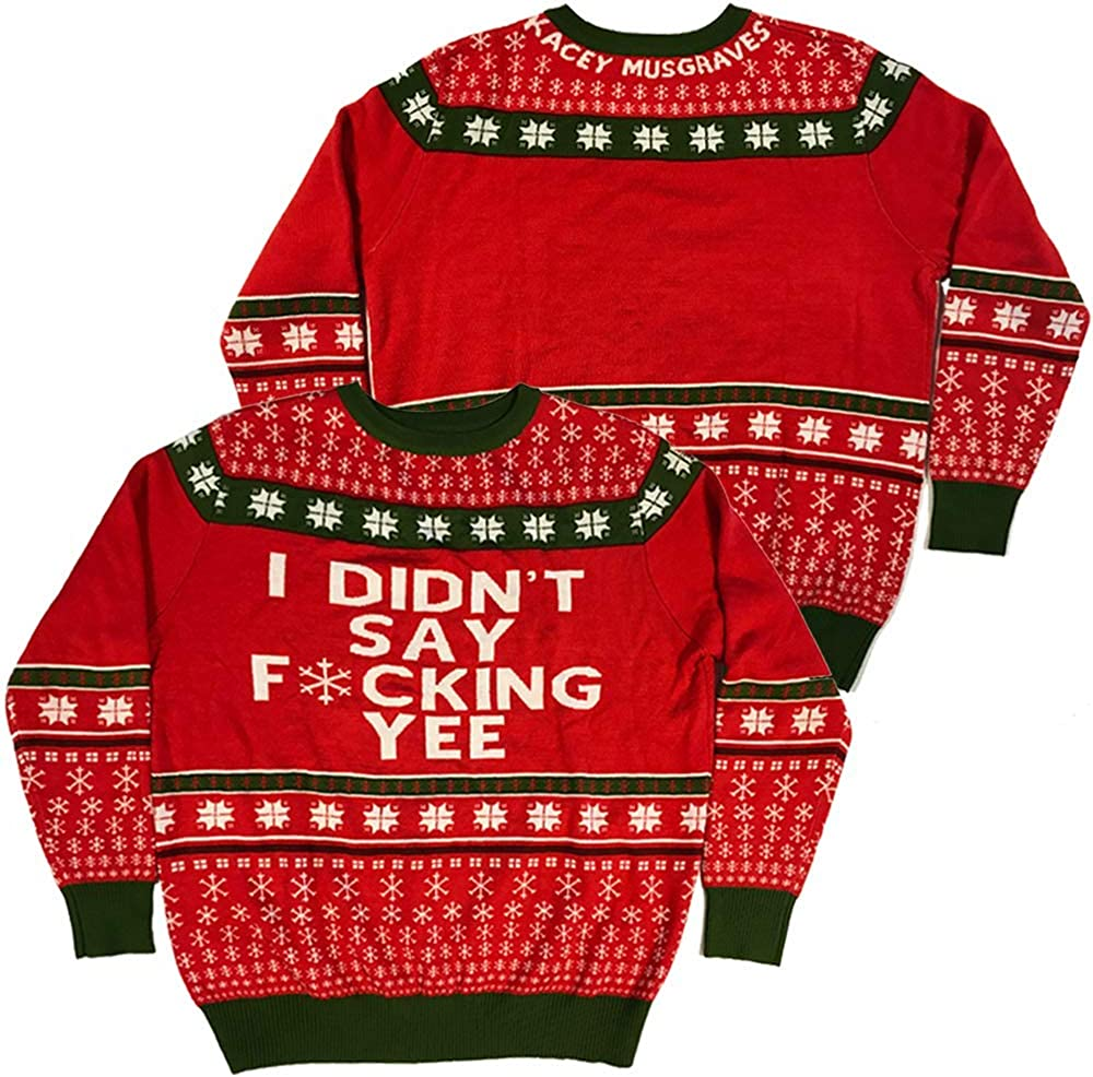 KACEY MUSGRAVES Store Ugly Sweater KM Max 80% OFF Holiday