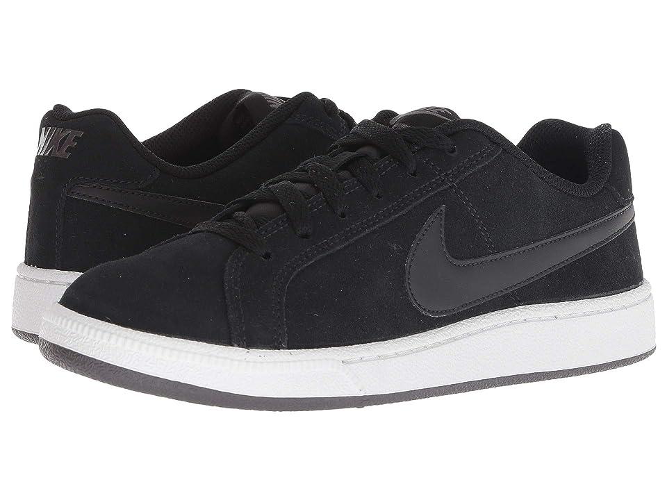 Nike Court Royale Suede (Black/Black/Thunder Grey) Women