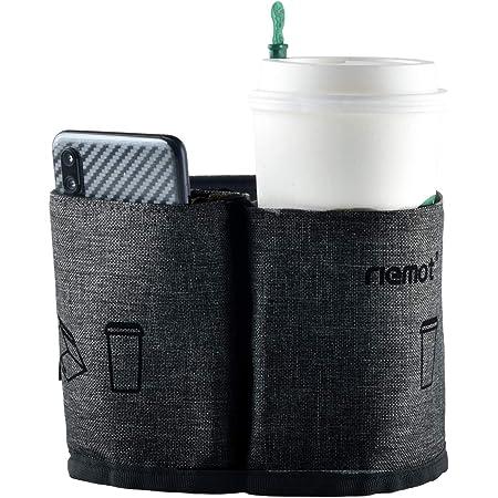 [riemot] 【第二代】スーツケース用 ボトルホルダー サイズ調節可 小物入れ 旅行 出張用