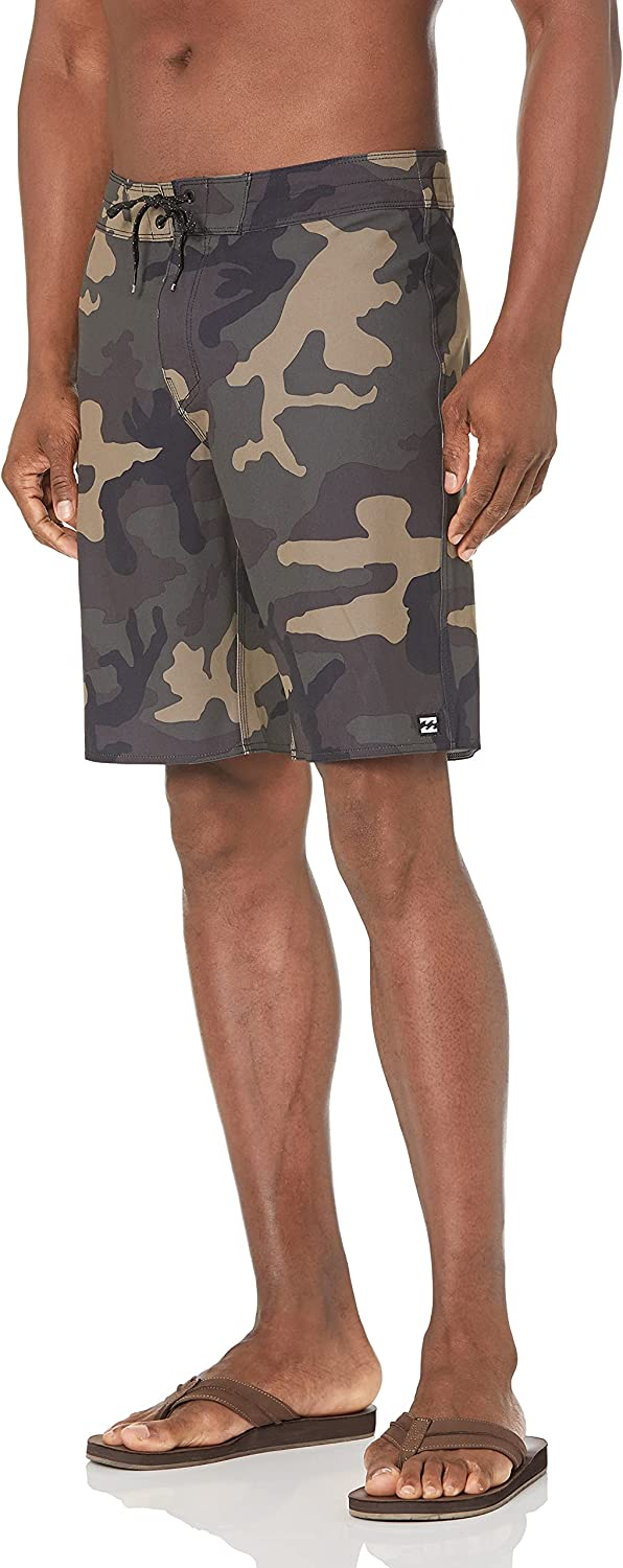 Billabong Max 52% OFF Men's Classic 4-Way Detroit Mall Stretch Inch Outsea Boardshort 20