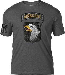 7.62 Design Army 101st Airborne Division 'Distressed' Patriotic Men's T Shirt