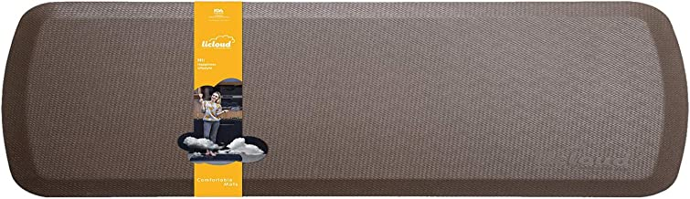 "Anti Fatigue Comfort Floor Mat By Licloud -24""x70""x3/4"" Professional Grade Quality Extra Long Mat Perfect for Standing Des..."