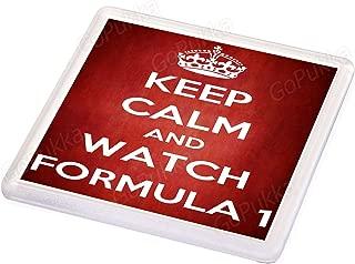 Keep Calm And Watch Formula 1 – Coaster