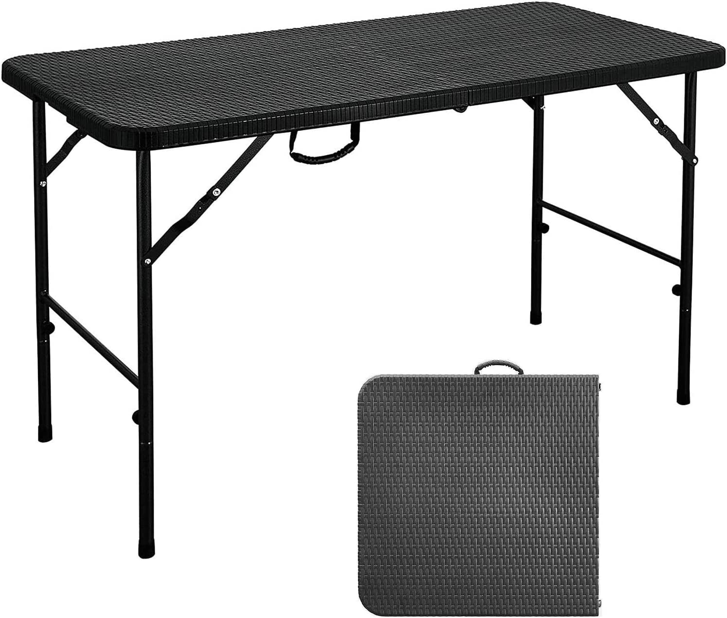 Folding Table Small Choice Portable Indefinitely Handl with Foldable Carrying
