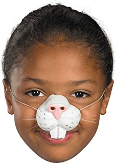 Bunny Costume Nose - Perfect for Rabbit and Bunny Costumes!