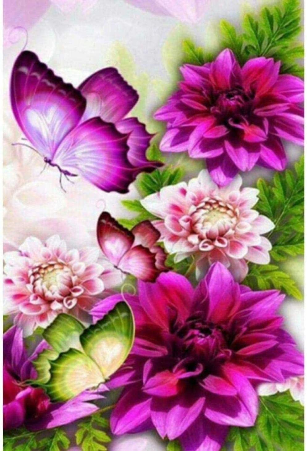 Attention brand Stamped Cross Stitch Kits Beginners for Adult Flowers Embroidery Popular standard