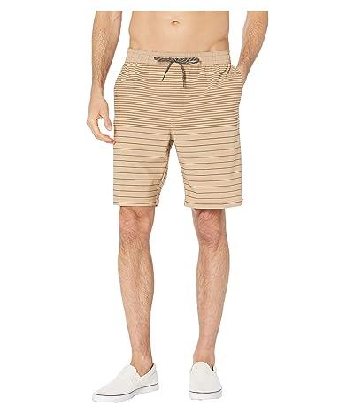 Quiksilver Waterman Suva Stripe 20 Amphibian Shorts (Inscence) Men