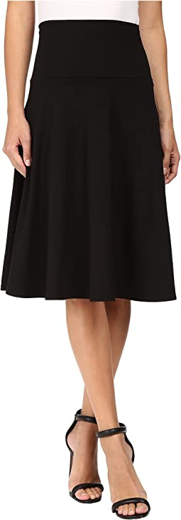 High Waist Flare Skirt