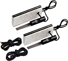 AOFAR Magnesium Fire Starter (2-Pack) Waterproof Fire Steel Pouch for Camping, Hiking, Hunting, Backpacking,Outdoor Survival fire Striker kit
