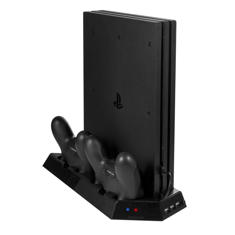Keten PS4 Pro Soporte Vertical con Estación de Carga para Mandos ...