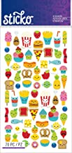Sticko Classic Mini Food Characters Stickers