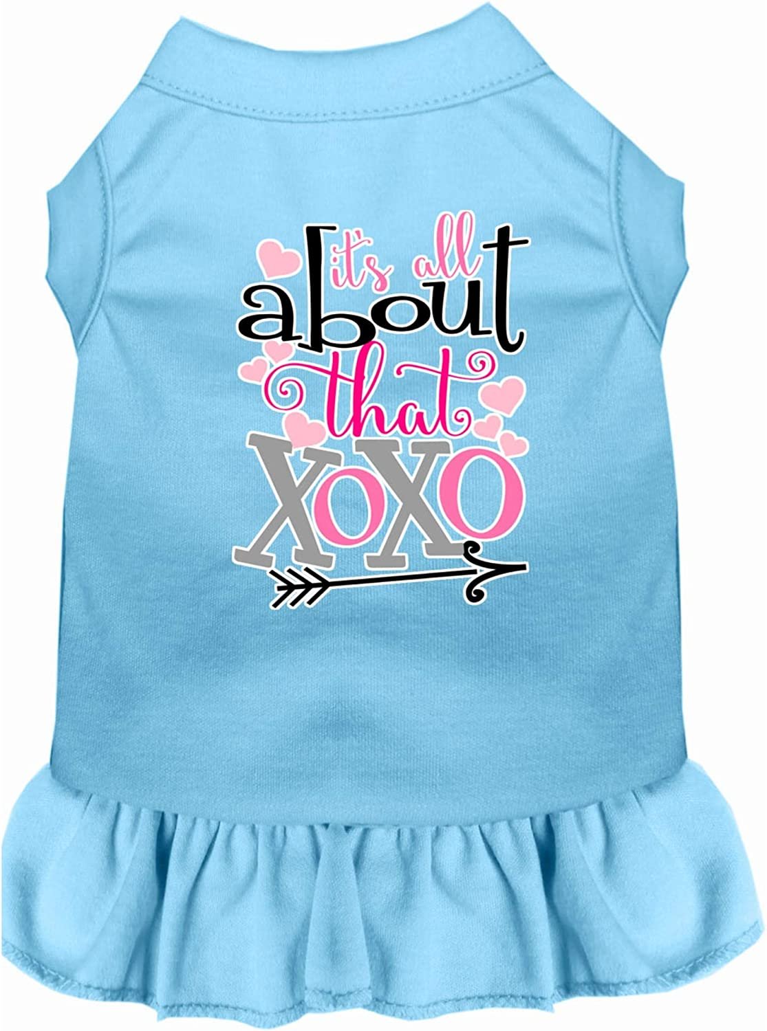 Mirage Pet New Free Shipping Product All famous About The Dress XOXO Screen Print Dog Bab
