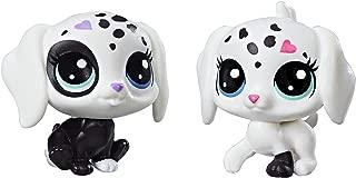 Littlest Pet Shop Black & White Puppy BFFs