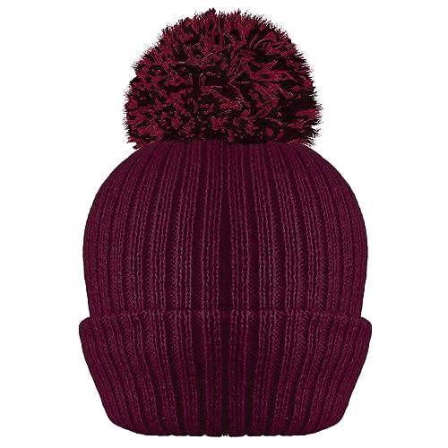 5660cefe Burgundy Hat: Amazon.co.uk