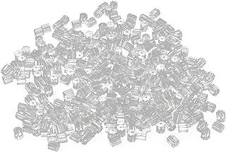 YDong 500 pezzi di orecchini in PVC di fissaggio a forma di cubo