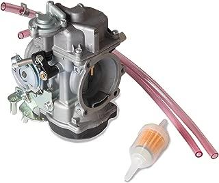 40mm Motorcycle Carburetor for Harley Davidson Sportster CV 40 XL883 Carb Replace part number 27421-99C 27421-99A 27490-04 27465-04 (Fit for Harley Davidson Sportster)