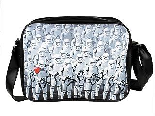 Star Wars - Bolso al hombro para hombre Blanco blanco talla única