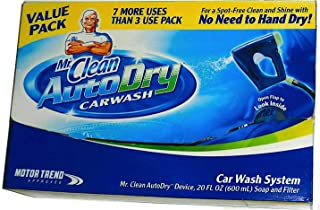 Mr. Clean Value Pack 10-Use AutoDry Car Wash System Starter Kit