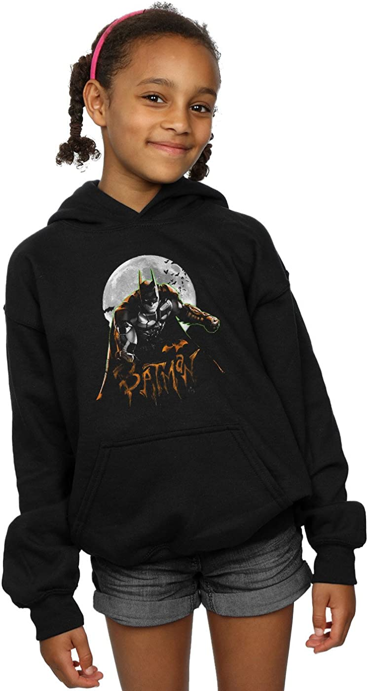 DC Comics Girls Batman Arkham Knight Halloween Moon Hoodie