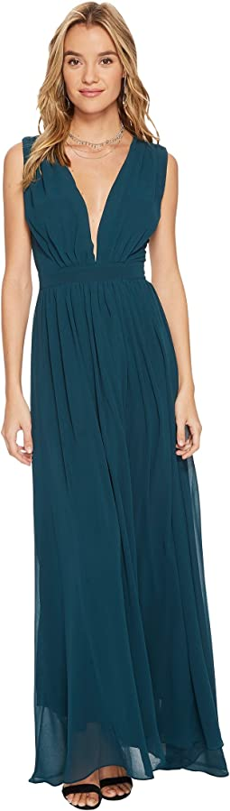 Bishop + Young - Plunge Maxi Dress