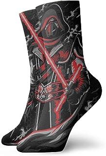 Dfhrtgre, Calcetines de Star Wars para hombres, mujeres, adolescentes, niñas, niños, divertidos, diseño informal, calcetines, el mejor regalo