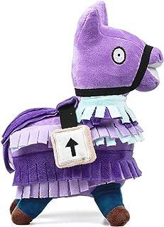 Loot Supply Llama Plush Stuffed Toy Doll Firgure Troll Stash Animal Alpaca Gift for Kids Boys Girls Toddlers (S)
