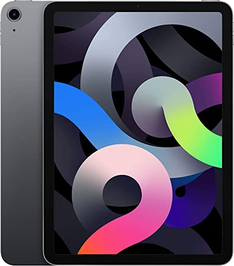 -2020 Apple iPadAir (10,9‑inch, Wi-Fi, 64GB) - spacegrijs (4egeneratie)-aanbieding