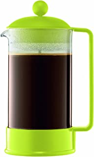 Bodum 1548-565US Brazil 1-Liter 34-Ounce French Press Coffeemaker, Green, 34 oz,