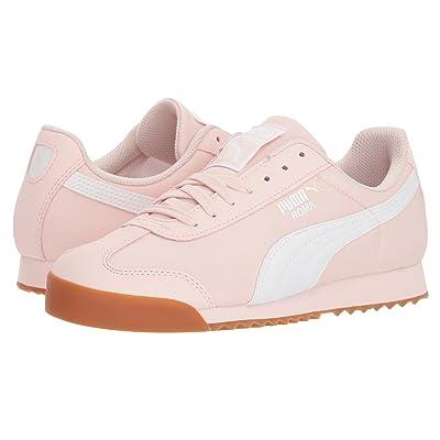 Puma Kids Roma Basic Summer Jr (Big Kid) (Pearl/White) Kids Shoes