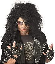 California Costume Collection - Heavy Metal Rocker Black Adult Wig