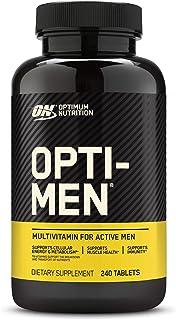 Optimum Nutrition Opti-Men, Vitamin C, Zinc and Vitamin D, E, B12 for Immune Support Mens Daily...