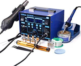 YIHUA 862BD+ SMD ESD Safe 2 in 1 Soldering Iron Hot Air Rework Station �F /�C with Multiple Functions