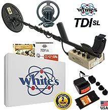 Whites TDI SL Hi-Q Metal Detector with 2 Coils