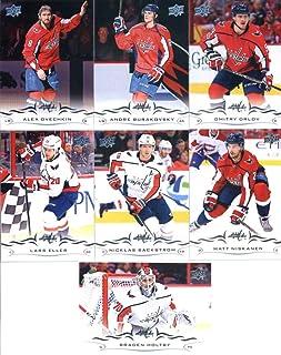 2018-19 Upper Deck Hockey Washington Capitals Veteran Team Set of 7 Cards   Nicklas bed564908