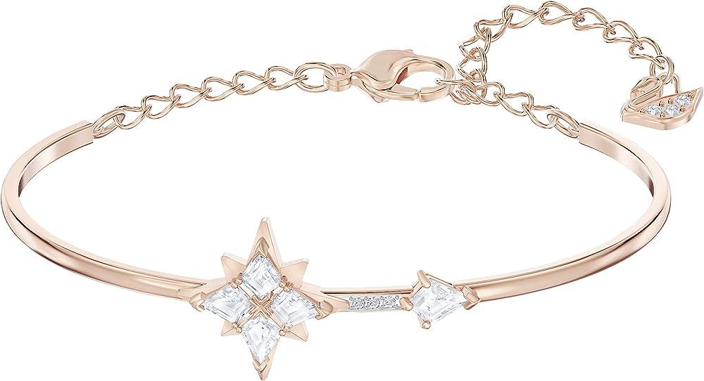 swarovski bracciale rigido symbolic  placcato oro rosa 5494338