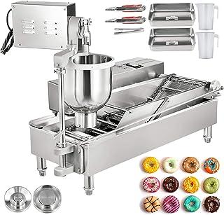 VEVOR Machine De Donuts 220V Machine à Beignet Commerciale à 2 rangées Automatique Pour Faire Beignet et Bonbons