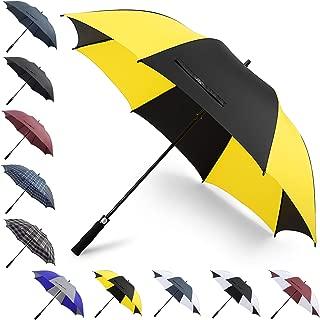 G4Free 62/68Inch Extra Large Golf Umbrella Heavy Duty Automatic Open Windproof Oversize Waterproof Stick Rain Umbrellas for Men Women
