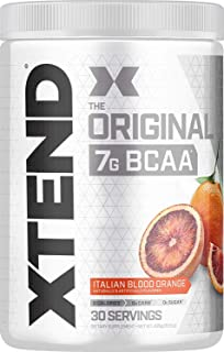 【海外直送品】Scivation Xtend BCAA 30杯分 (ブラッド・ オレンジ) [並行輸入品]