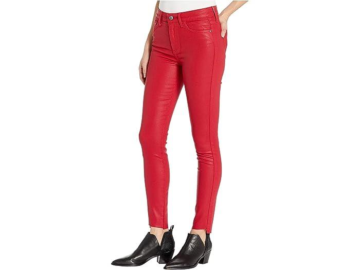 Sam Edelman Stiletto Ankle In Bright Red Jeans