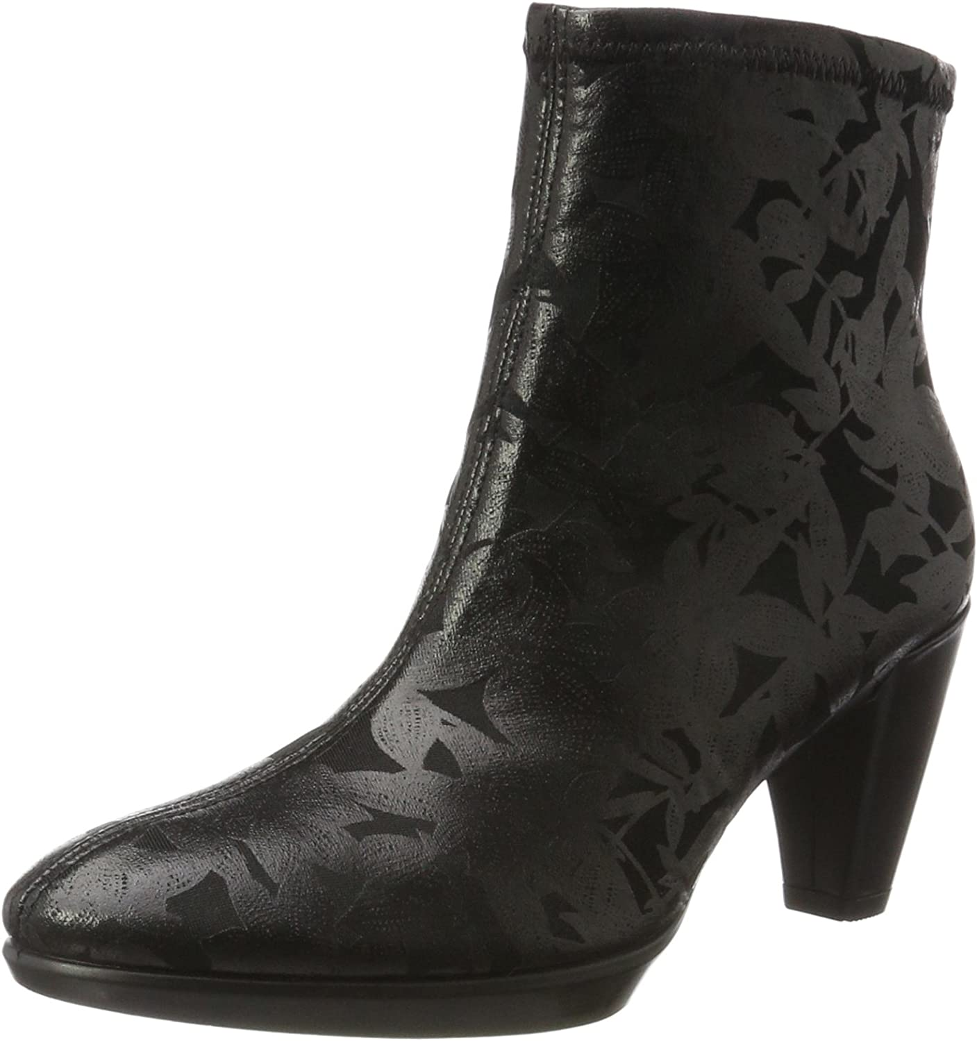 Ecco Womens Shape 55 Plateau Ankle Ankle Bootie