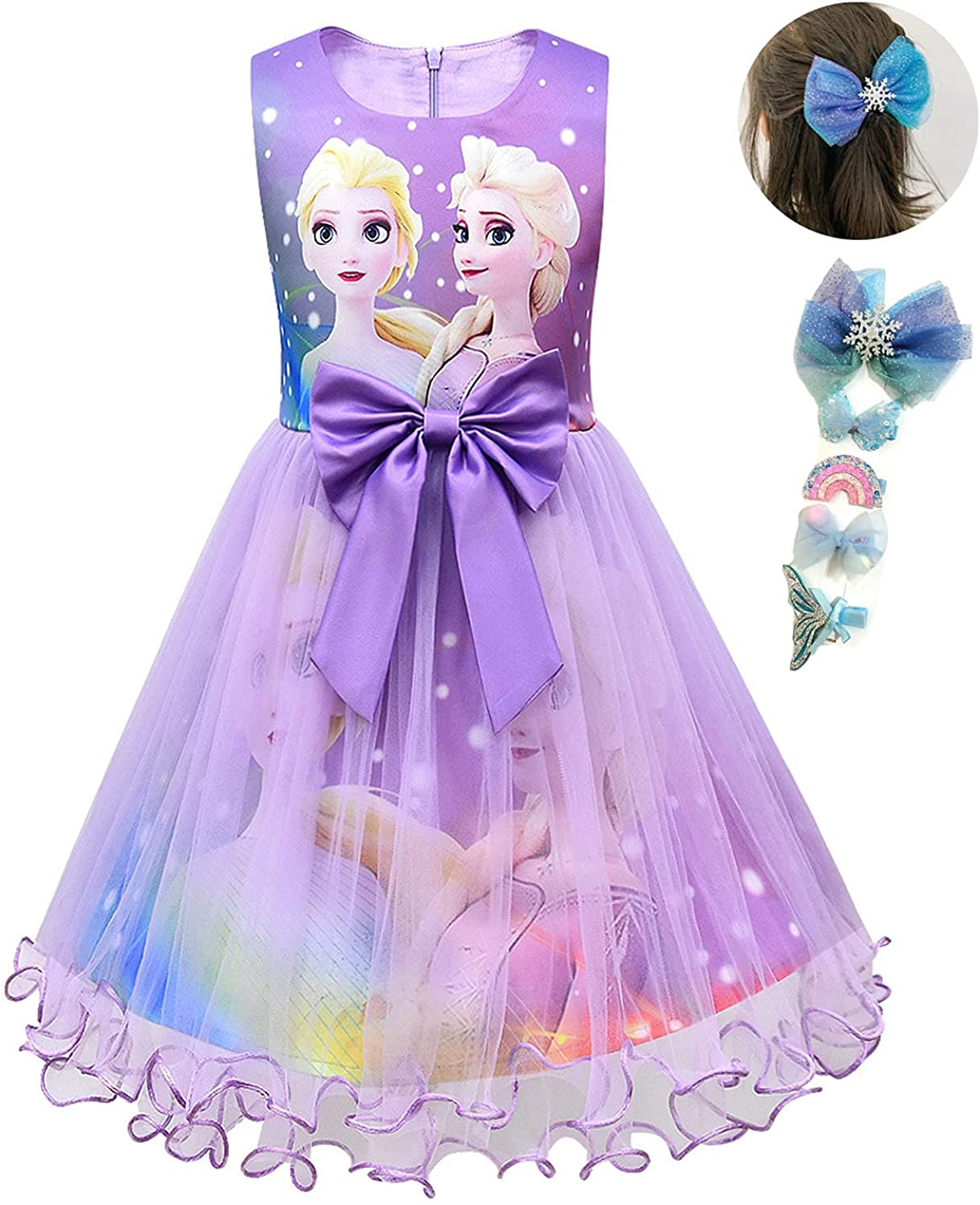 Kid Purchase World Princess Snow Costume Party Purchase C Queen Little Dress Girls