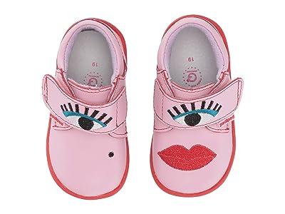 pediped Cindy Grip n Go (Toddler) (Pink) Girl