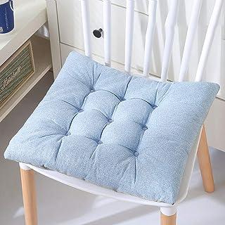 Outdoor sedia cuscini cuscini di seduta intrecciato rotondo sedia patio pastiglie per mobili da giardino Garden Home Office