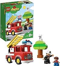 LEGO- Duplo Rescue Camión de Bomberos, Juguete de construcción de Aventura de Salvamento, (10901)