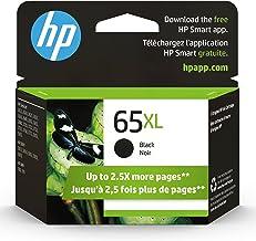 Original HP 65XL Black High-yield Ink Cartridge | Works with HP AMP 100 Series, HP DeskJet 2600, 3700 Series, HP ENVY 5000...