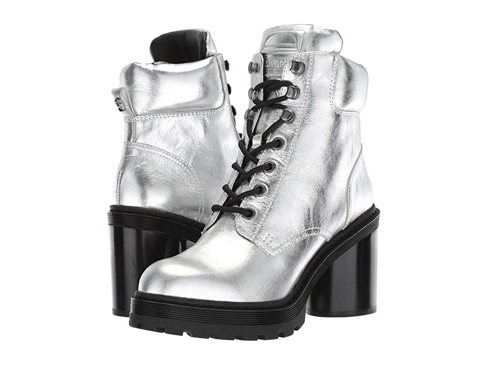 Marc Jacobs Crosby Hiking Boot (Silver) Women