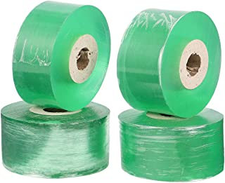Tomaibaby 4pcs Nursery Grafting Tape Self-Adhesive Stretchable Bio-degradable Plant Grafting Membrane for Garden Fruit Tre...